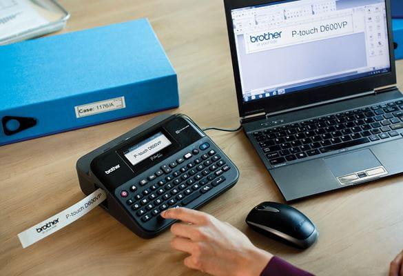 Come usare il P-Touch Editor per le etichette